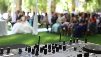 Sonorizacion de la Ceremonia de Boda