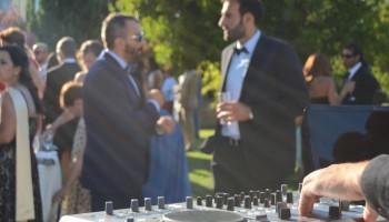 Ambientación del Cocktail de Boda